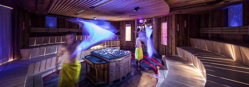 La sauna al Quellenhof
